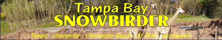 Tampa Bay Area Events, Calendar, Maps, Webcams, Reviews of Hotels, Restaurants, Shopping & Activities in the Tampa Bay Area Snowbirder